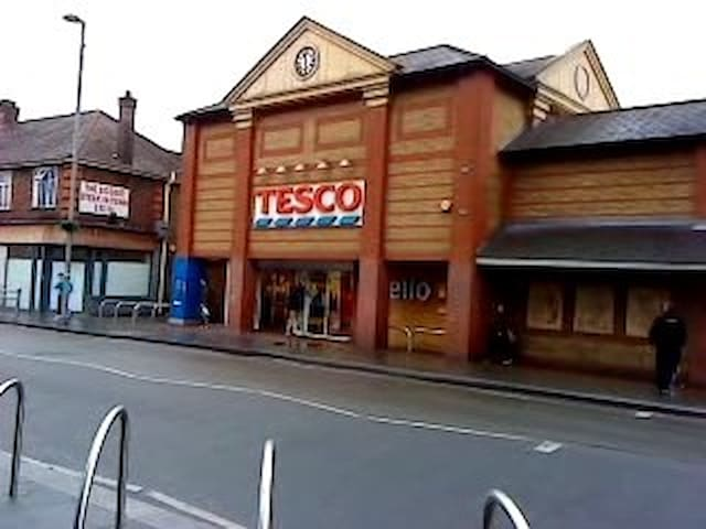 TESCO super store for all your creature comforts including food and drinks, flowers etc., within walking distance.