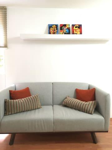 Habitación confortable, céntrico, limpio