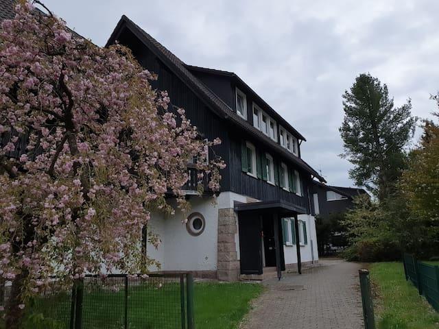 Haus von außen