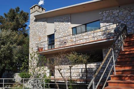 Villa in natura a mezz'ora dal mare - Bergiola - Huvila