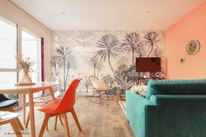 Villa La Palmeraie, calme & confort en ville