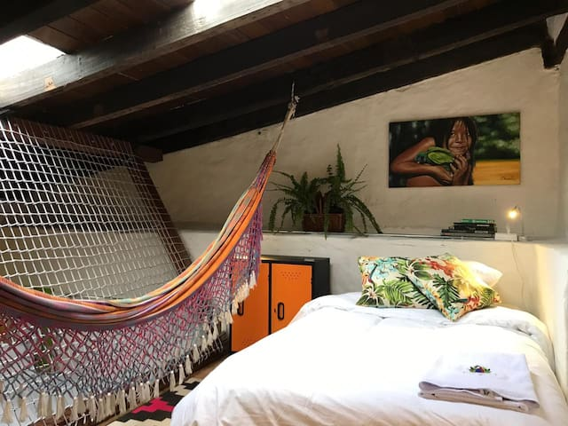Guajira room - Historic center - Vivo Hostel