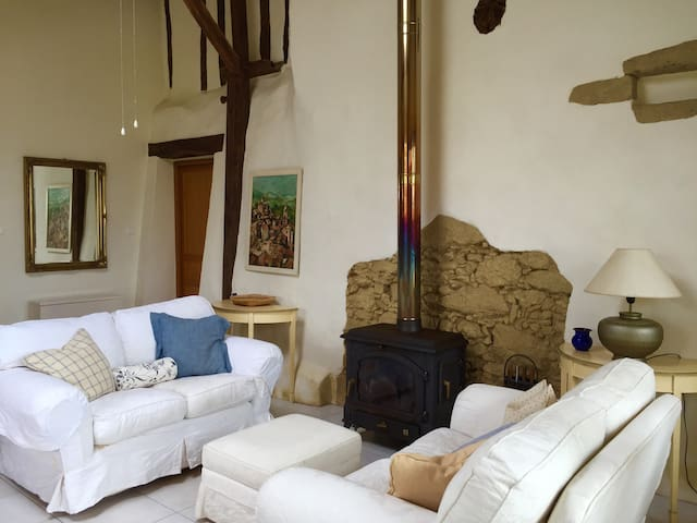 Luxury Barn Conversion - Escanecrabe - Wohnung