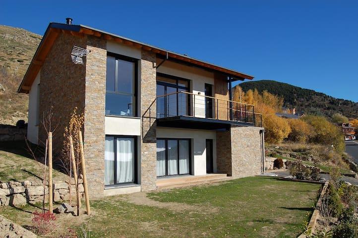 Chambre 3 avec vue plein sud - Targassonne - Haus