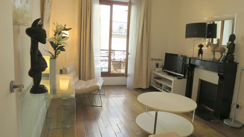 Quartier branché, adresse prisée - Paris - Apartemen