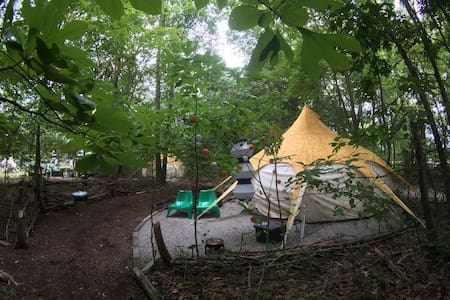 Peaceful & Heated Yurt in the Forest