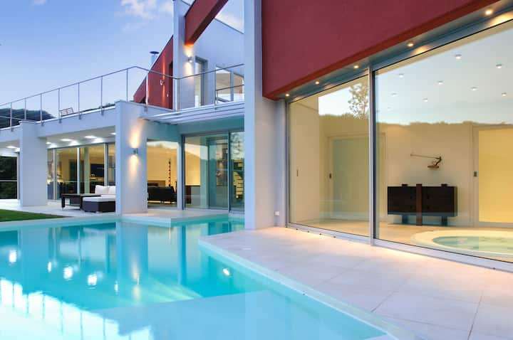 Villa with 5 bedrooms in Saint Désirat, with private pool, furnished garden and WiFi
