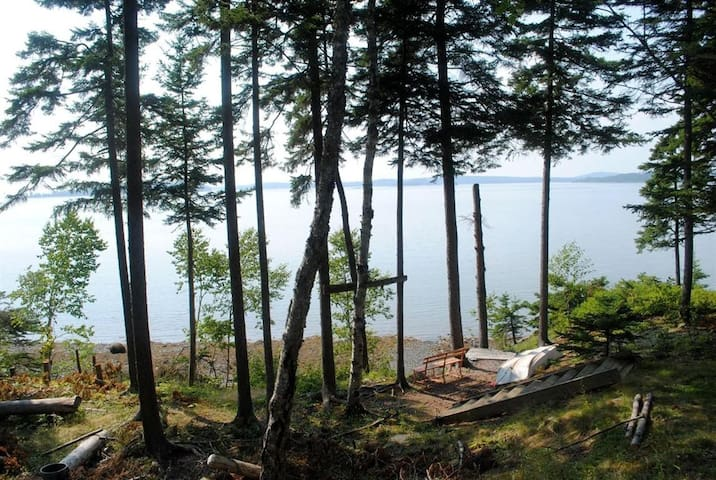 Secluded Oceanfront Vacation Rental - Gouldsboro - Talo