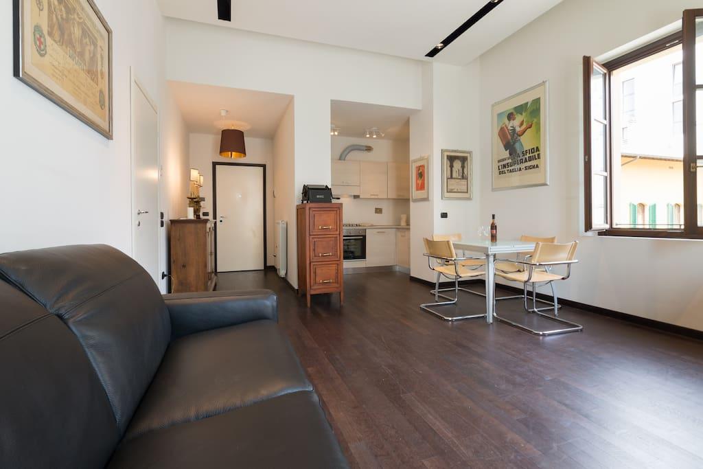 Living room Sofa Bed/ Salotto con Divano letto