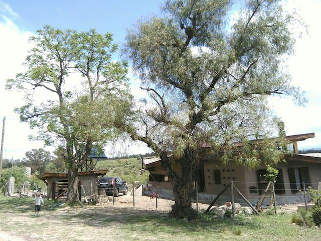 Acogedora casa ecológica en sierra - Córdoba, AR - 獨棟