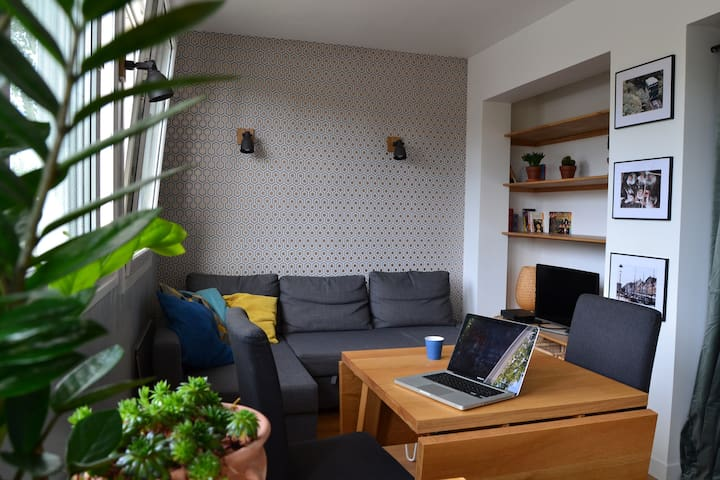 Charming apartment, parking, Paris 20 min - Wissous - Huoneisto