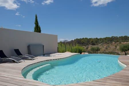 Appartement avec piscine à débordement et jacuzzi - Juvignac - Apartament