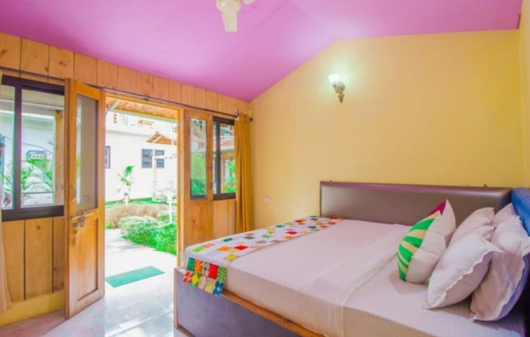 Garden Facing Rooms | AC| Palolem Beach