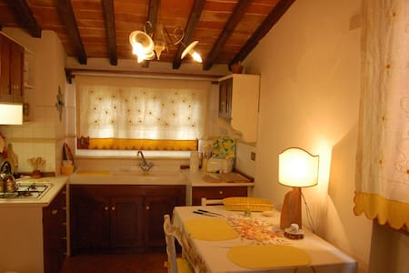 Cottage Giallo In Tuscany hills - Montevarchi - Apartment
