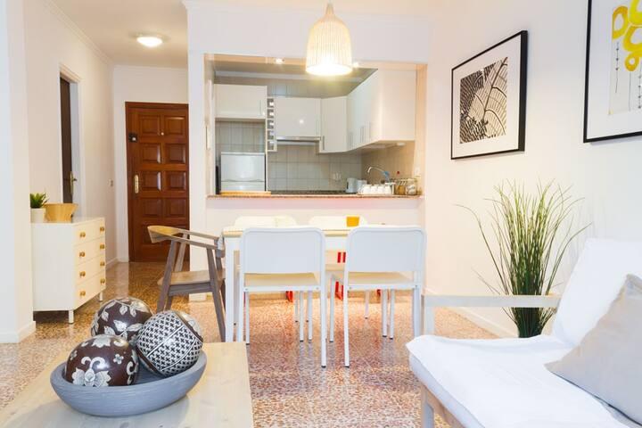 2 bedroom flat - El Medano seafront