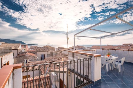 Stunning Roof Terrace - Cefalù - Appartement