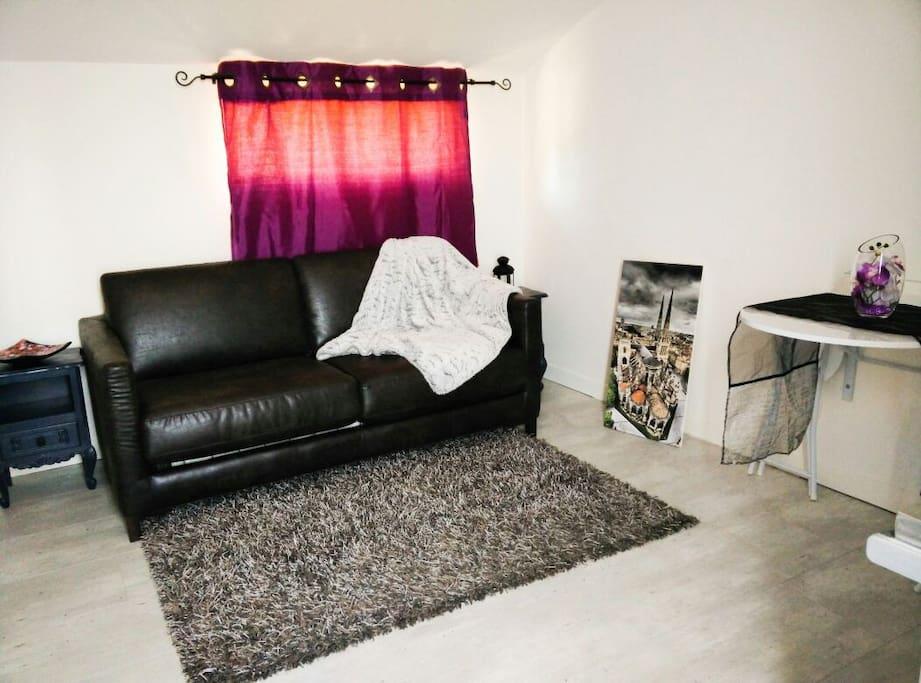 Studio cosy 15min bordeaux centre maisons louer for Studio louer bordeaux