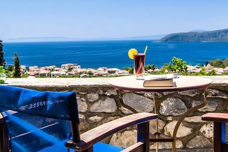 Stone studio with amazing sea view! - Καρδαμύλη