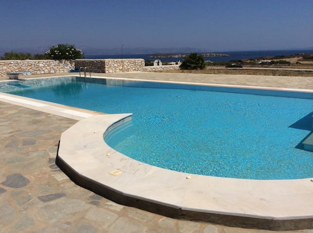Detached house in complex with pool - Aspro Chorio - Hus