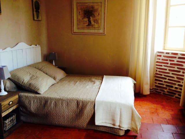 Studio de charme centre Anduze - Anduze - Apartamento