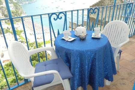 Casa Gladiola beach view - Positano - Appartement