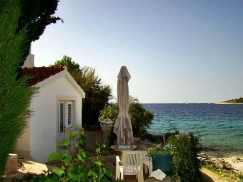 House at the beach for 2,far far away