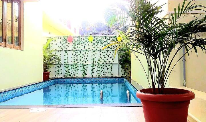 4BHK PRIVATE DUPLEX VILLA WITH PRIVATE POOL