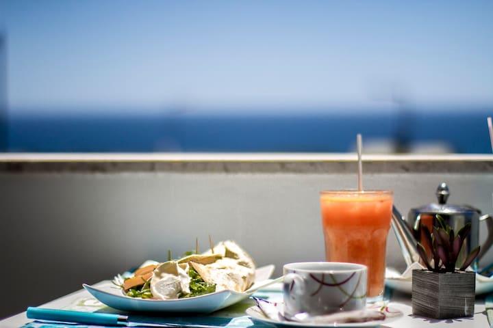 Apart. facing south with sea view - Sagres - Pis