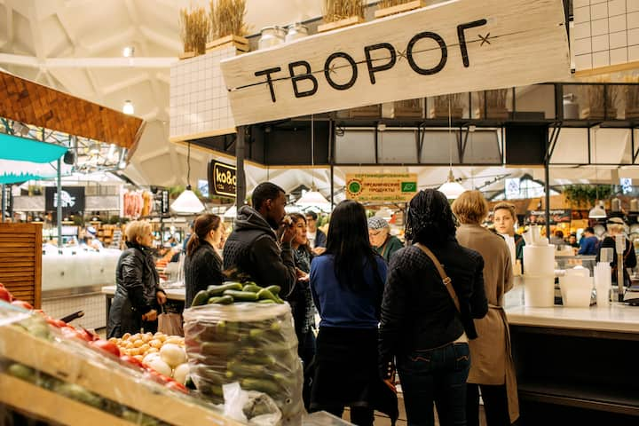 Tasting products we love in Russia