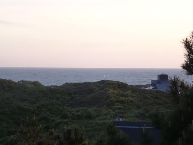 La mer vue du 2ème étage
