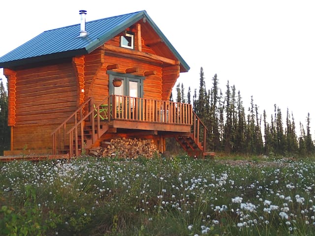Private & Cozy Cabin with Hot Tub! - Fairbanks - Kulübe