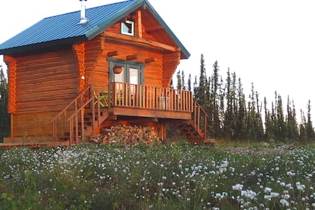 Private & Cozy Cabin with Hot Tub! - Fairbanks