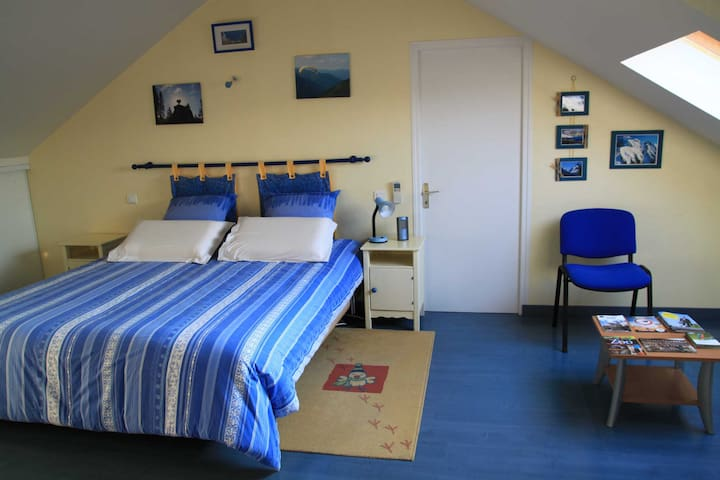 Chambre gd confort 15 mn de la mer - Sainte-Pazanne - Aamiaismajoitus