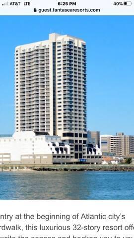 FamtaSeaResort across from Atlantic City beach