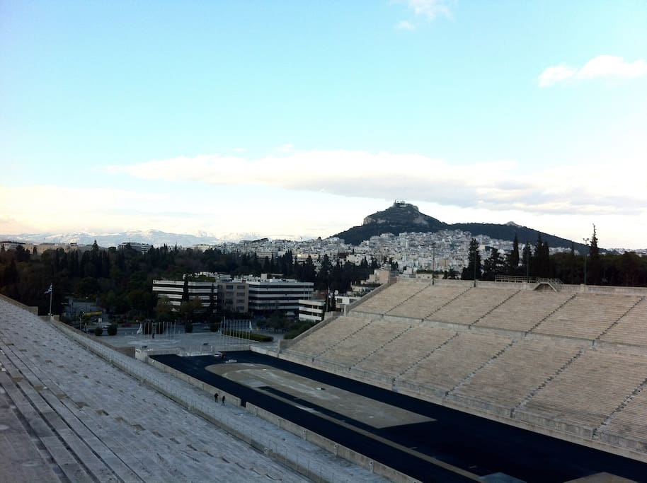 Going for a walk on the Arthittos hill you can see Athens