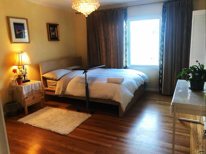 cozy private Room near 🚞 station& ✈️Airport&Mall 4