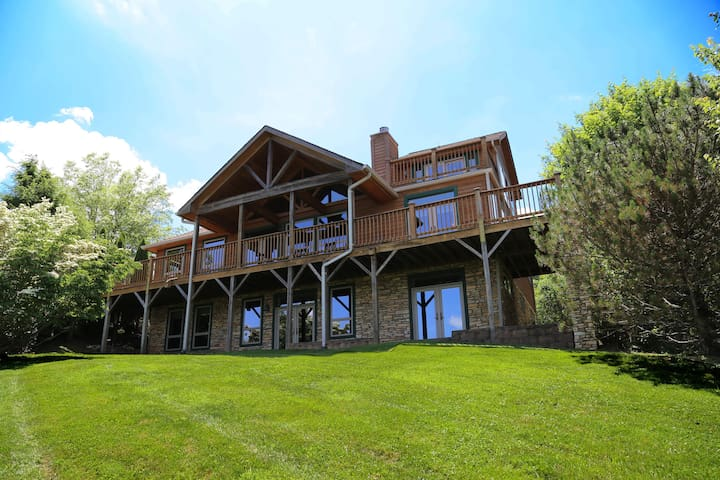 Beautiful Mountain Retreat on the New River - Jefferson - Rumah