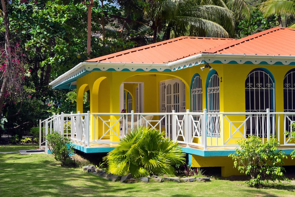 Cottages In Cane Garden Bay 2 Cabins For Rent In Cane