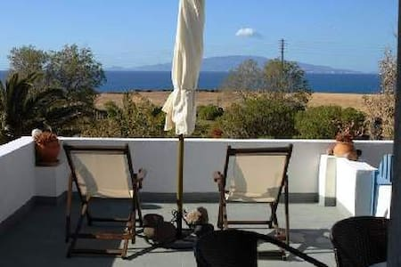 EcoXenia - Studio for 3 - Sea view - Thira - Lakás