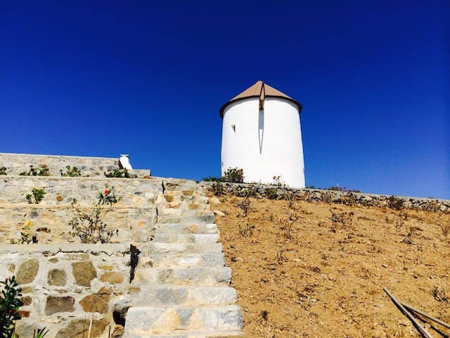 private traditional windmill castle - Astipalea - Castell