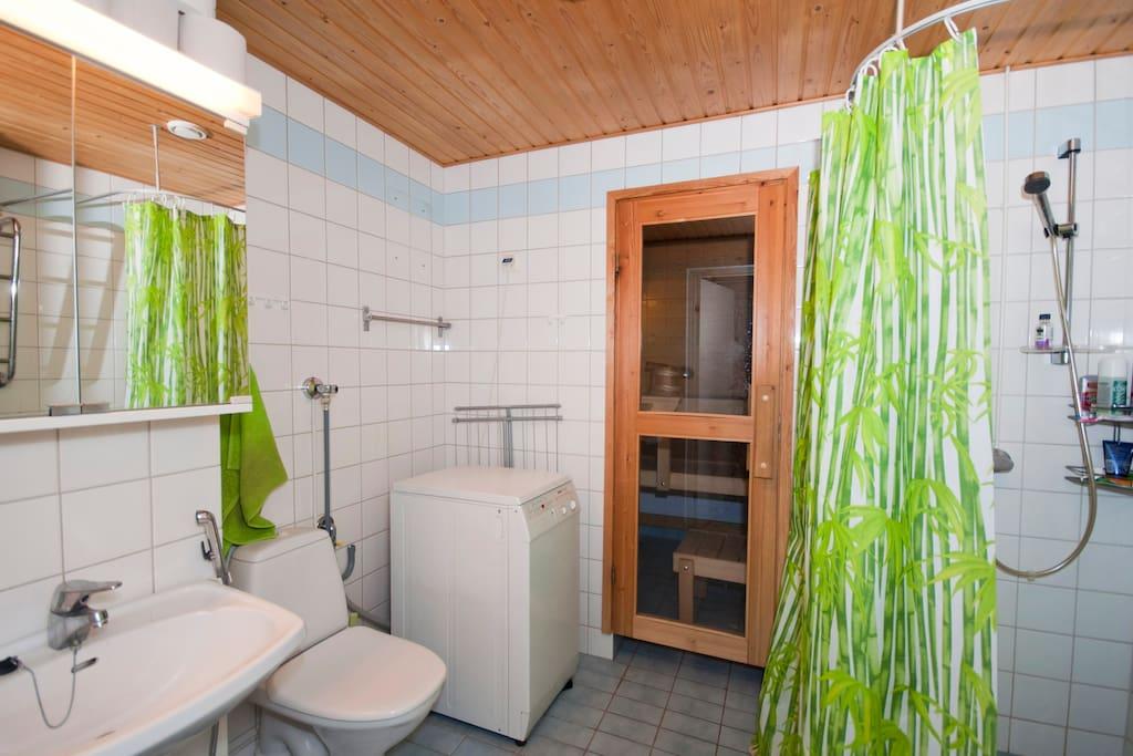 Apartment, 42m2, Sauna, Internet