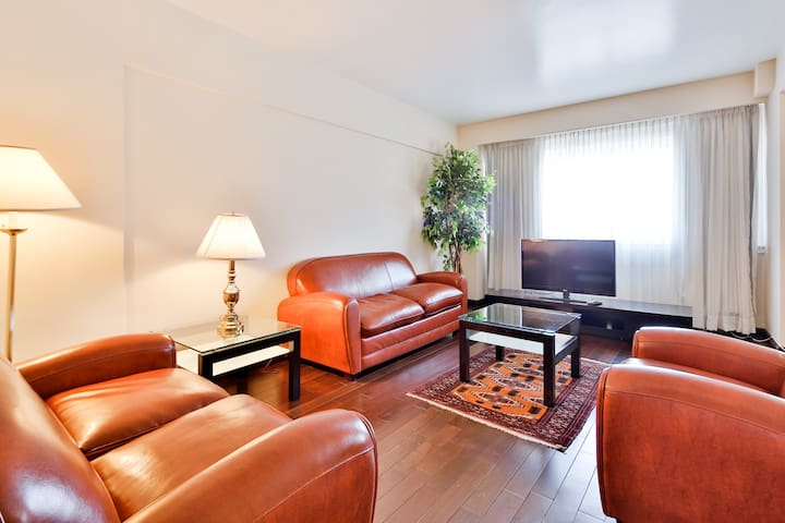Rent 1 bdr Montreal Furnished Apt 1 - Mt Royal - Apartemen