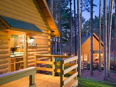 Christmas Mountain Village WI Dells - Cabins for Rent in Wisconsin ...