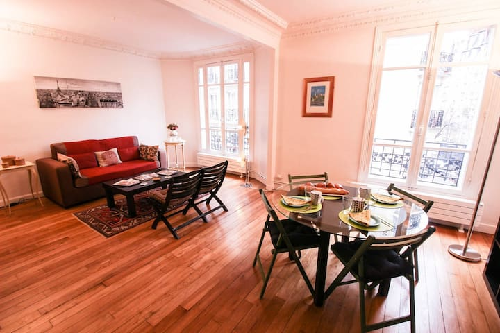 60SQM OF PURE COMFORT - STEPS FROM PLACE BASTILLE