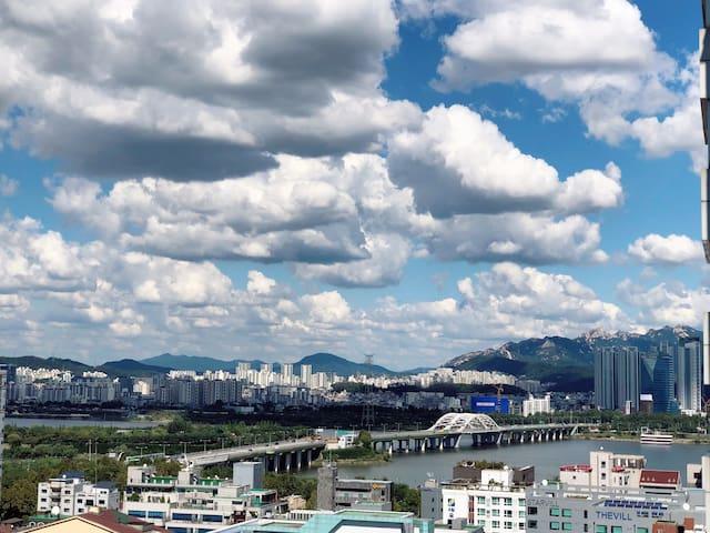 #한강뷰/당산역/홍대근처/지하철1분2,9호선/dangsan/hongdae/hanriver
