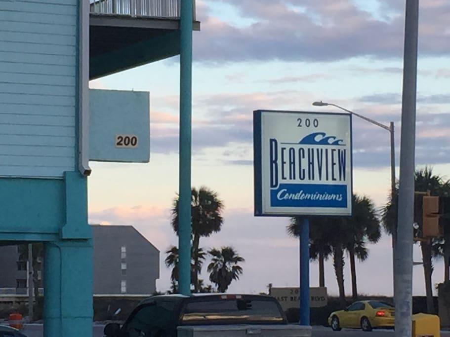 Beachview Condos includes Covered FREE parking!