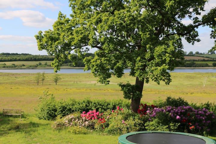 Skøn villa med fjordudsigt - Haderslev - House