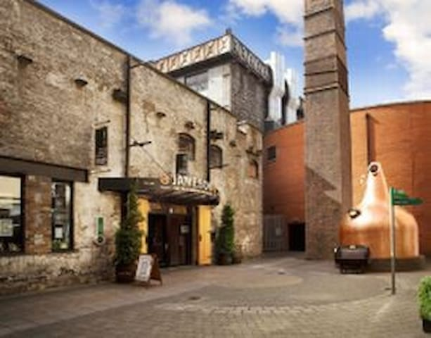 Jamiesons Whisky Distillery Courtyard off Smithfield Square