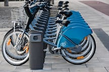 Dublin Bikes in Smithfield Square