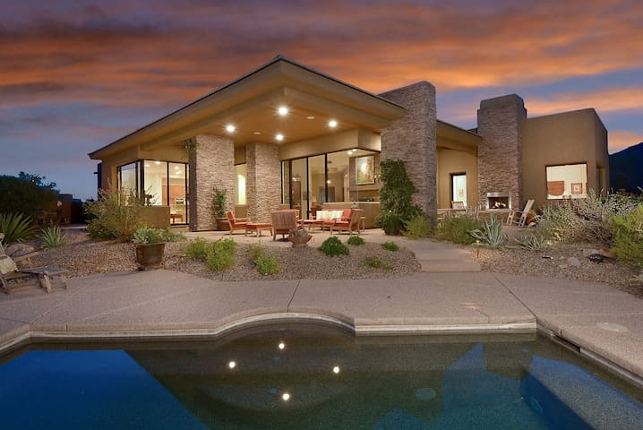 Luxury home in Tortilita Mnt canyon - Marana - Hus